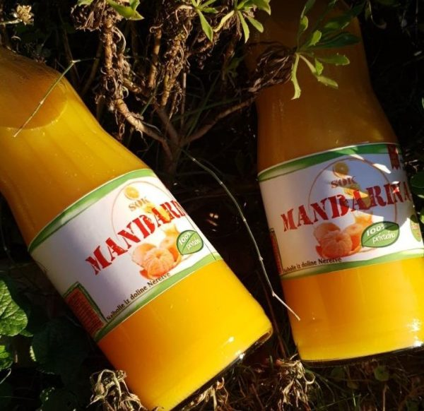 Okusi i mirisi juga - sok od mandarine